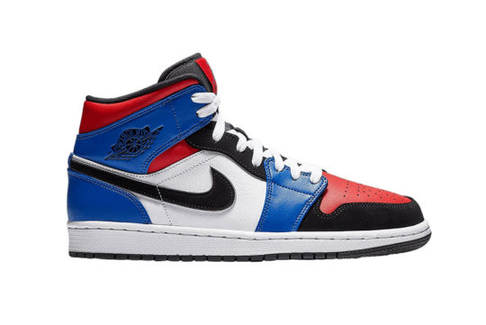 Nike Air Jordan 1 Mid Hyper Royal 554724-124