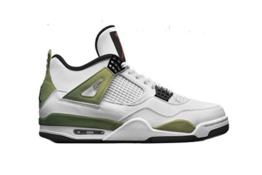 Air Jordan 4 Pale Citron 308497-116