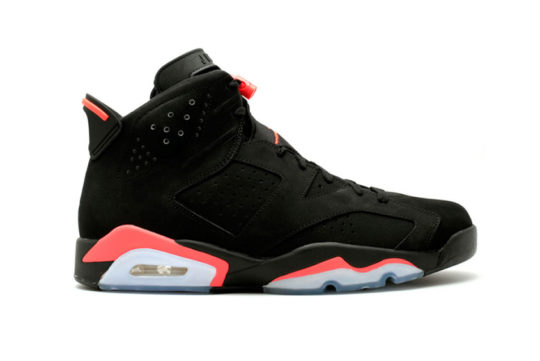 Air Jordan 6 Black Infrared 384664-060
