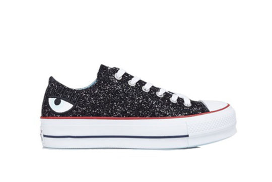 Converse x Chiara Ferragni Chuck Taylor All Star Lift Low Top Black 563834c