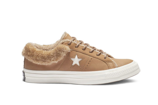 Converse One Star Street Warmer Leather Low Top Brown 162603c