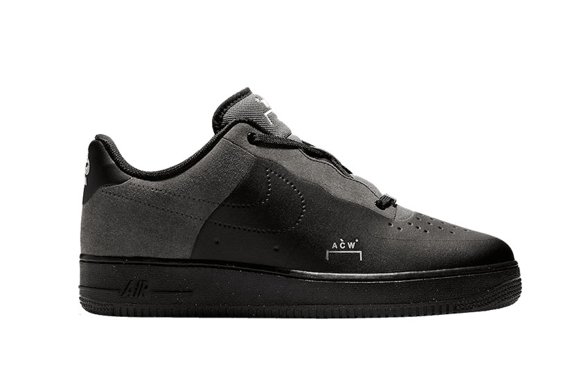 A COLD WALL* x Nike Air Force 1 Low Black : Release date, Preis & Infos