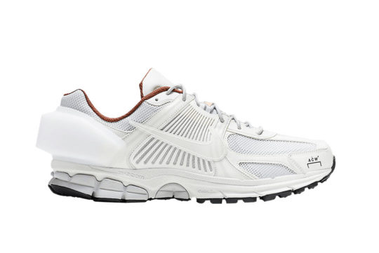 A-COLD-WALL* x Nike Zoom Vomero +5 White at3152-100