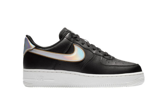 "Nike Air Force 1 '07 Black/Gold ""Metallic Pack"" ar0642-002"