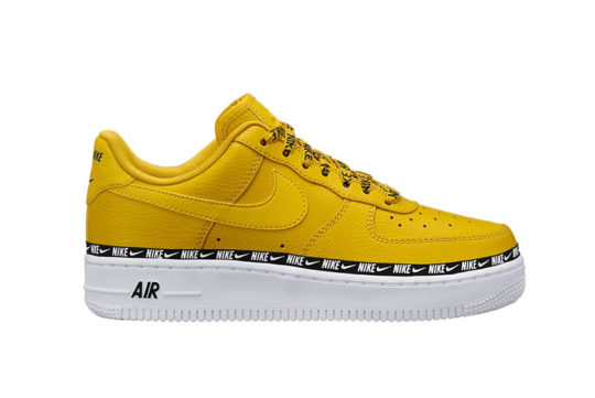 Nike Air Force 1 07 SE Premium Overbranded Yellow ah6827-700