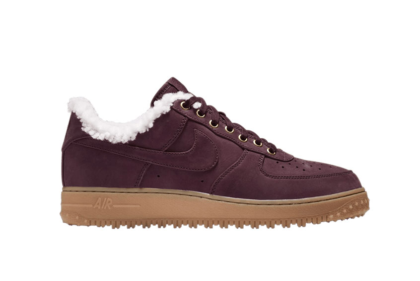 hot sale online e3156 82bd7 How to buy the Nike Air Force 1 Premium Winter Burgundy