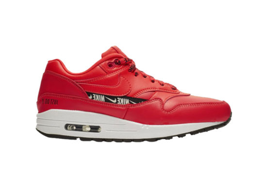 Nike Air Max 1 SE Overbranded Red 881101-602