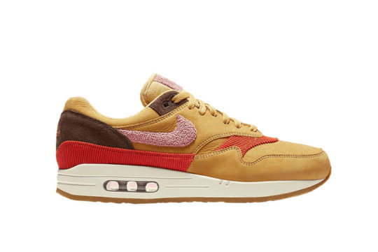 Nike Air Max 1 Wheat Gold Rust Pink CD7861-700