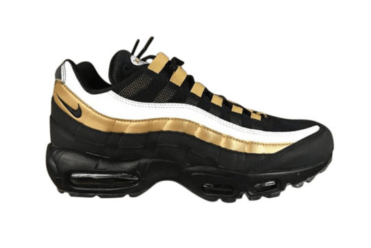 Nike Air Max 95 Black/Metallic Gold at2865-002