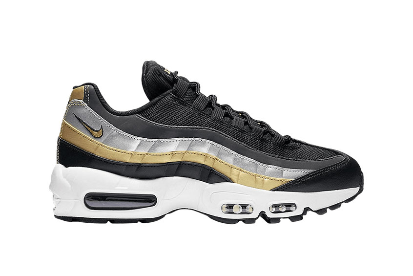 unique design cozy fresh detailed look Nike Air Max 95 Lux Black Gold : Release date, Price & Info