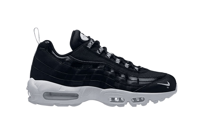 Nike Air Max 95 Premium Black White : Release date, Price & Info