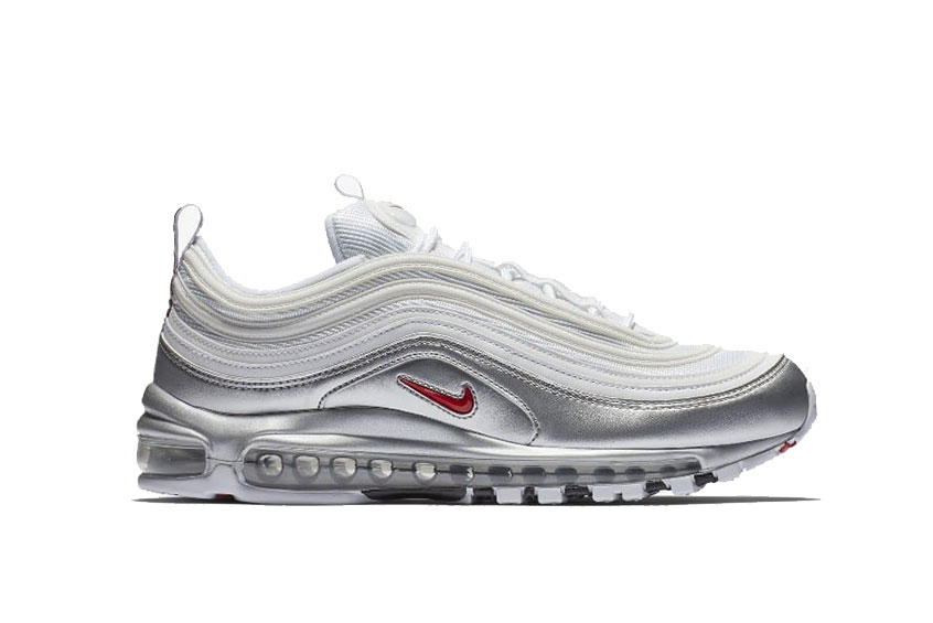 0bdbad9945 Nike Air Max 97 QS Metallic Pack White : Release date, Price & Info