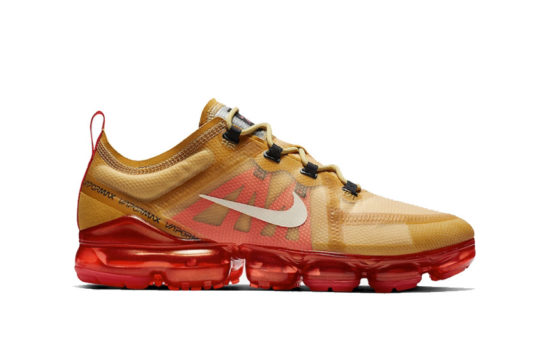 "Nike Air VaporMax 2019 ""Crimson Gold"" ar6631-701"