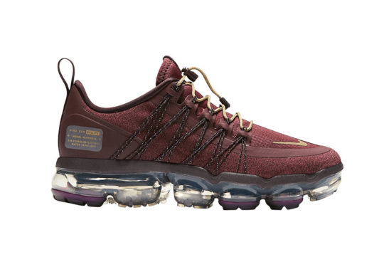 Nike Air VaporMax Run Utility Burgundy Womens aq8811-600