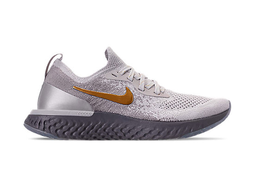 """423d0a0ae9277 Nike Epic React Flyknit Premium Grey """"Metallic Pack""""   Release date ..."""