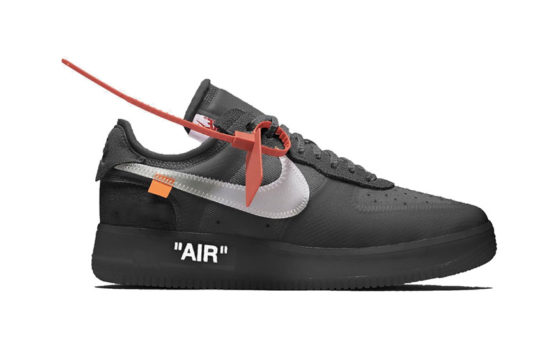 Off-White x Nike Air Force 1 Low Black ao4606-001