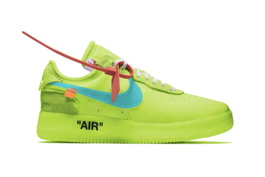 Off-White x Nike Air Force 1 Low Volt ao4606-700