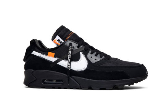 Off-White x Nike Air Max 90 Black Cone aa7293-001