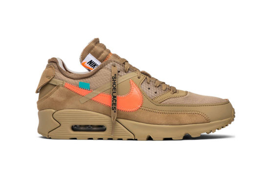 Off-White x Nike Air Max 90 Desert Ore aa7293-200