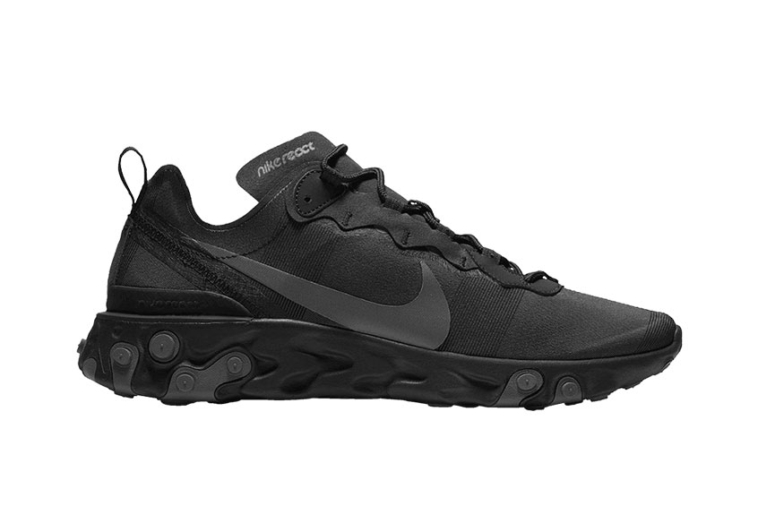 Nike React Element 55 Medium Black bq6166-008