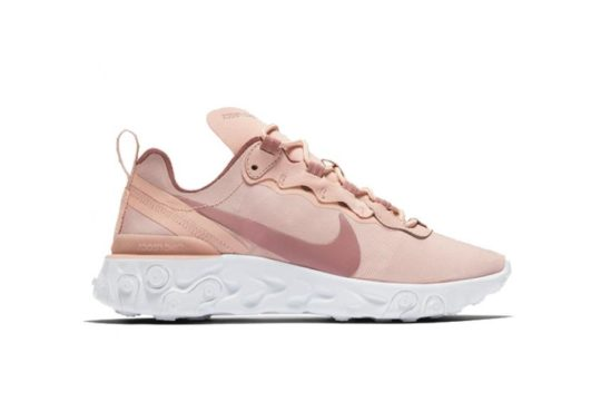 "Nike React Element 55 Womens ""Particle Beige"" bq2728-200"