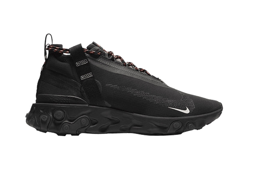 discount shop check out quality design Nike React Runner Mid WR ISPA Black : Release date, Price & Info
