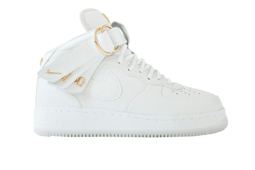 online tutaj super tanie Cena hurtowa Victor Cruz x Nike Air Force 1 Mid White : Release date, Price & Info