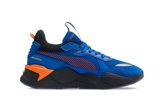Mattel x PUMA RS-X Hot Wheels Blue 370405-01