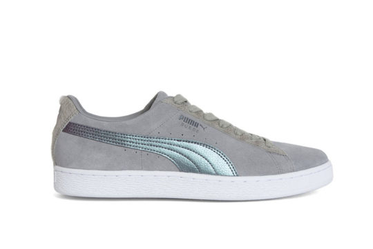 Puma Pigeon Suede Classic Grey White 366334-01