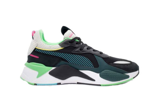 Puma RS-X Toys Black Green 369449-01
