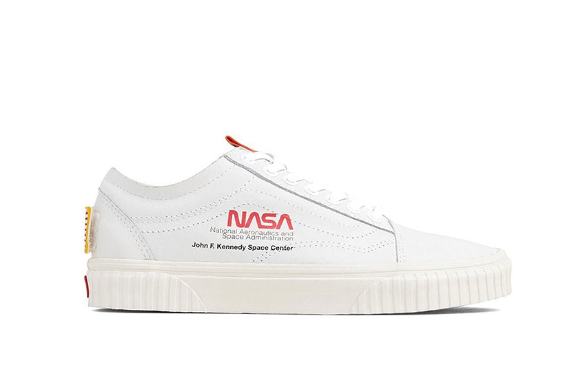 NASA x Vans Old Skool Space Voyager White : Release date, Preis & Infos