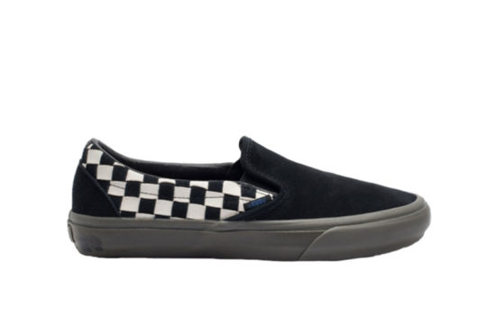 Vans TH Slip-On LX Black White vn0a3zcnurb1