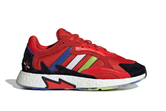 Asterisk Collective x adidas TRESC Run Active Red ee5687