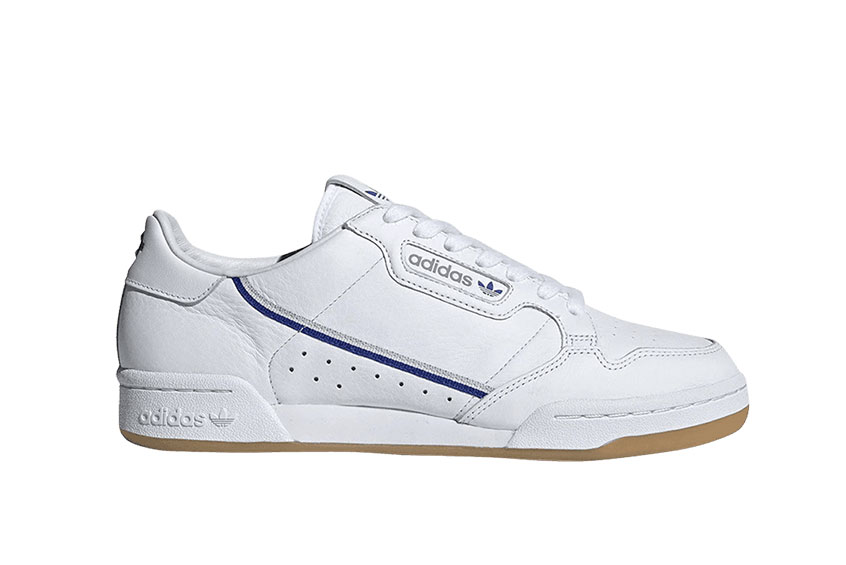 adidas Continental 80 TFL White Blue : Release date, Price & Info