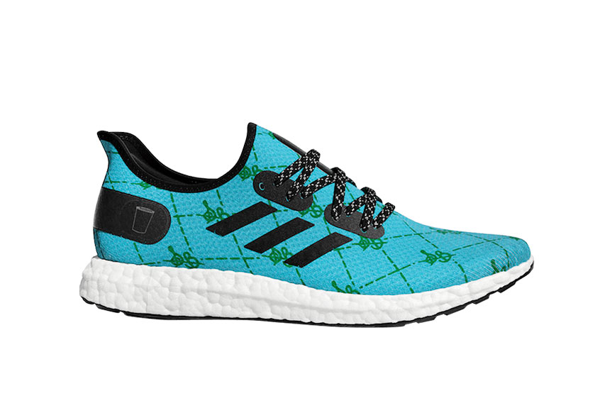 Sadelle adidas Speedfactory AM4 Blue eg7483