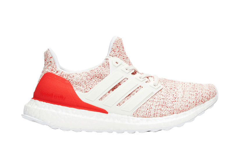 adidas UltraBOOST Chalk White Red Womens db3209