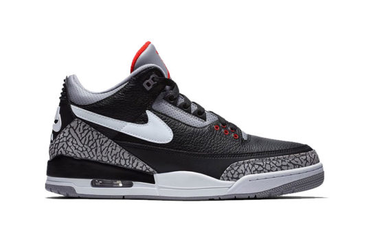 Air Jordan 3 Tinker Black Cement ck4348-007