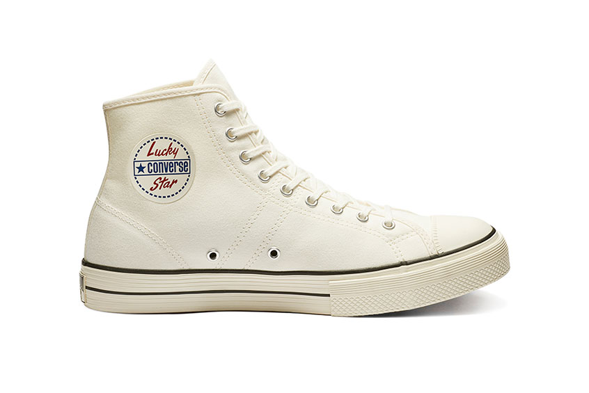 Converse Lucky Star High Top Egret 163158c