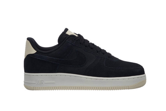 Nike Air Force 1 07 Premium Black Beige Womens 896185-006