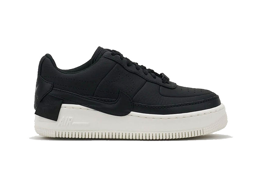 912272b63408c0 Nike Air Force 1 Jester XX Premium Black Sail Womens   Release date ...