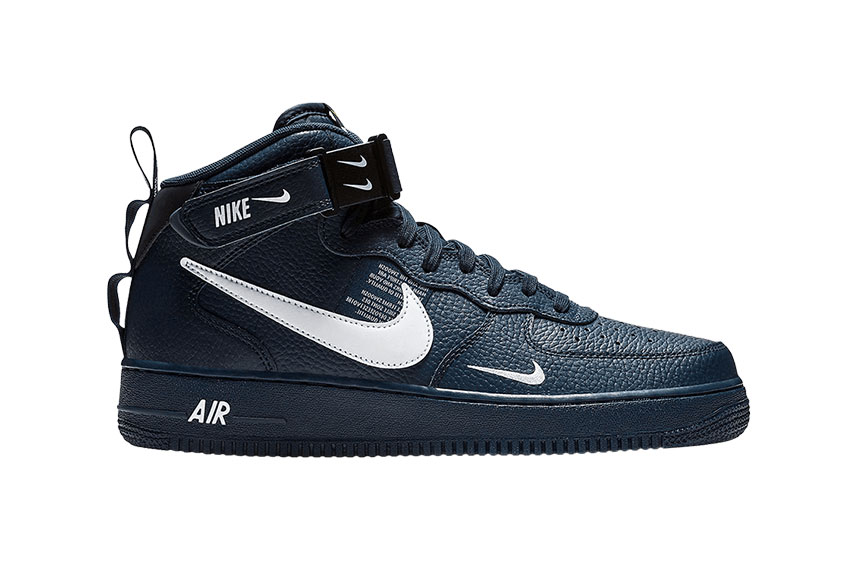 Nike Air Force 1 Mid Utility Navy 804609-403