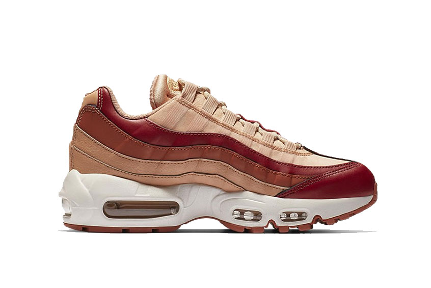 in stock cheapest arriving Nike Air Max 95 OG Crimson Peach : Release date, Price & Info