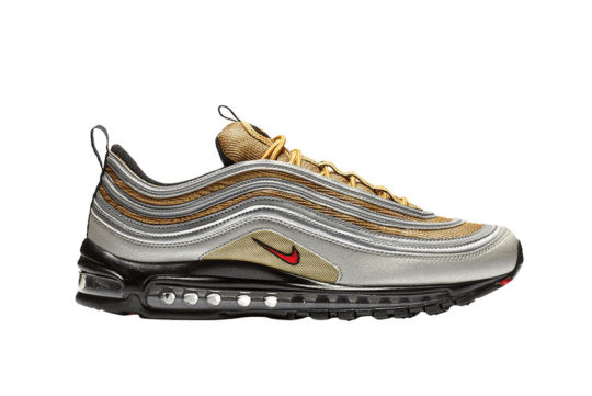 Nike Air Max 97 Metallic Silver Gold bv0306-001