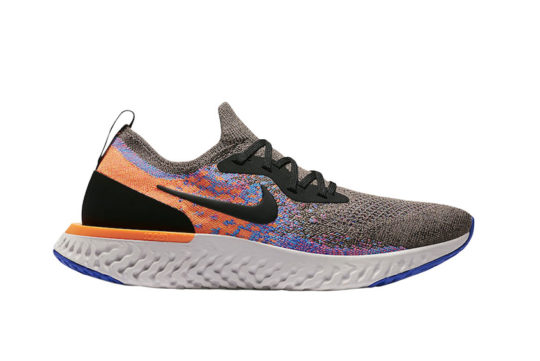 Nike Epic React Flyknit Brown Orange at6162-200