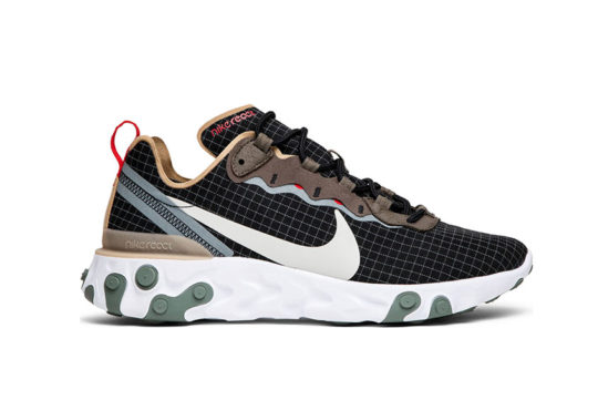 size? Exclusive Nike React Element 55 Grid Multi bv0323-001