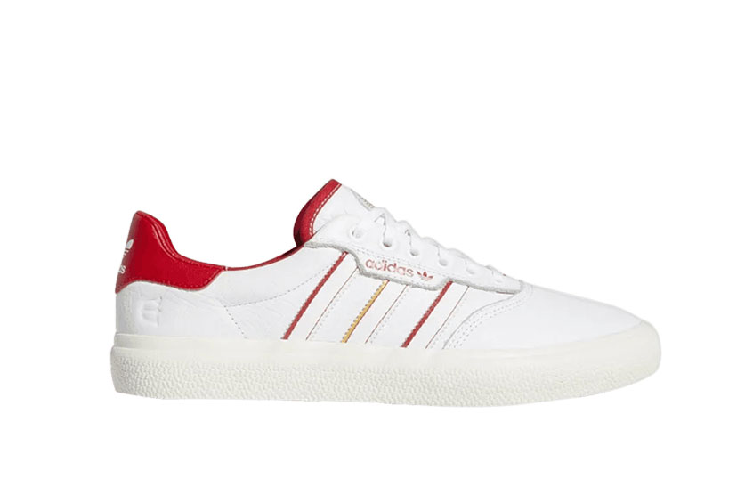 adidas 3MC Vulc Evisen White Scarlet : Release date, Price & Info