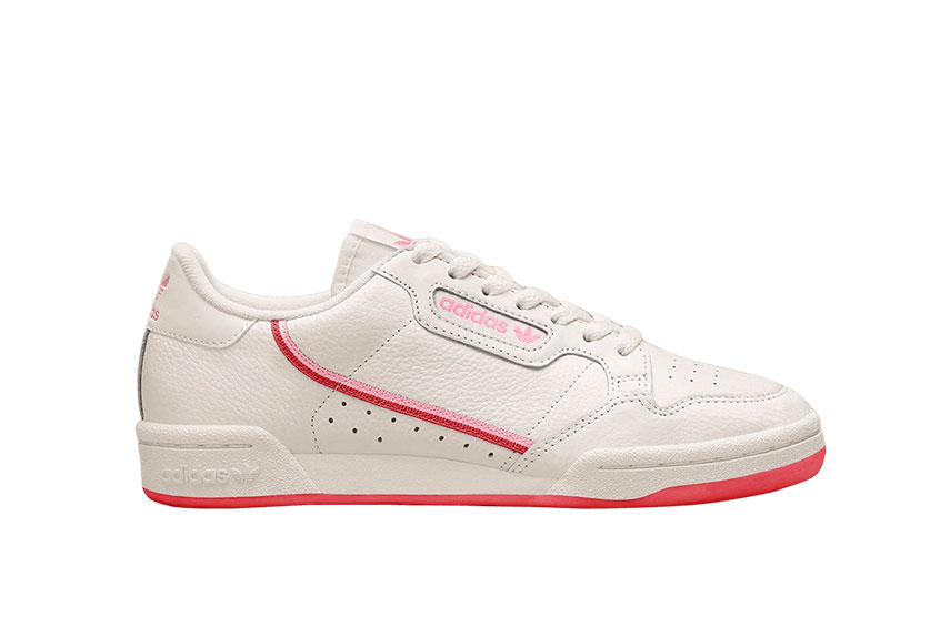 adidas Continental 80 Off White Red