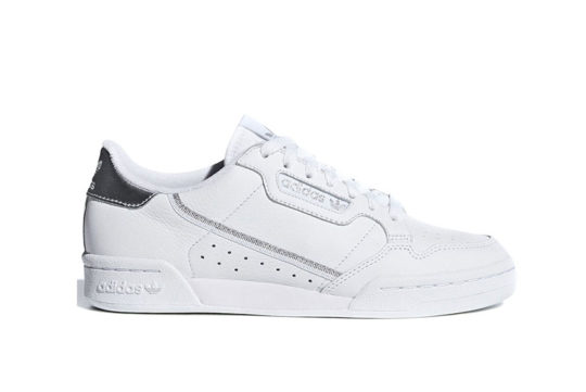 adidas Continental 80 White Silver ee8925