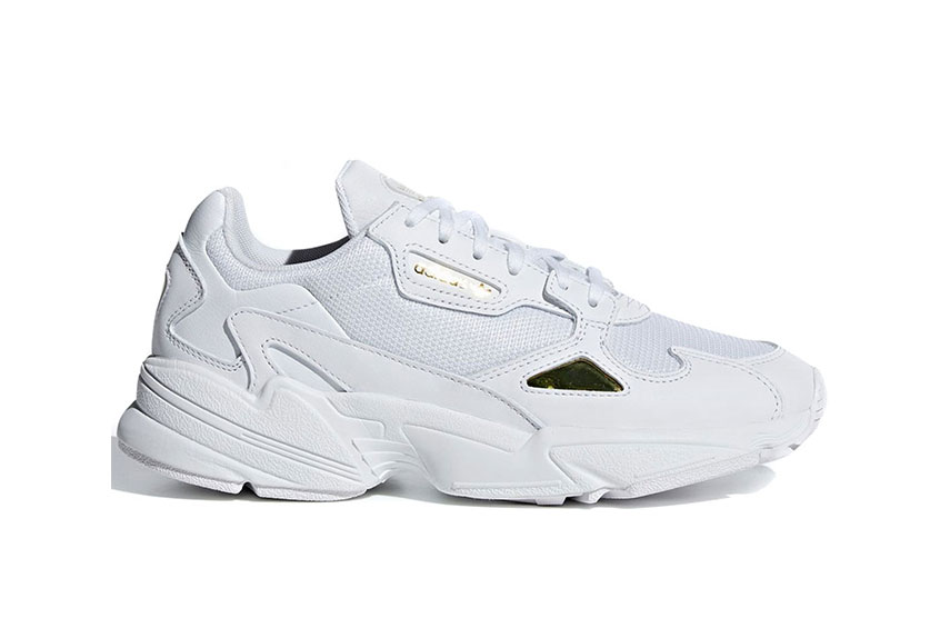 detailed look 10db0 35b8e How to buy the adidas Falcon White Gold Womens
