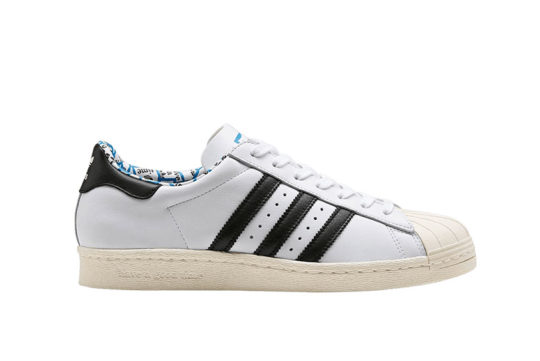Have A Good Time x adidas Superstar 80s White Black g54786